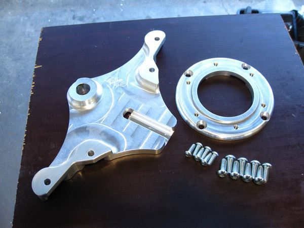 Picture of CBR F4i  Multi-caliper Rear Brake bracket
