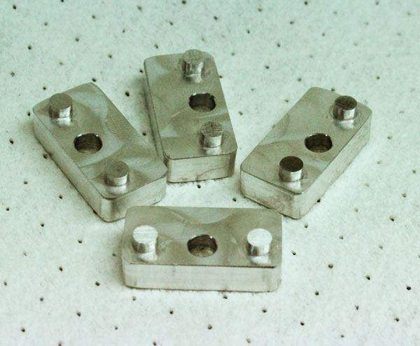 Picture of Fuel rail spacers: Busa / GSXR