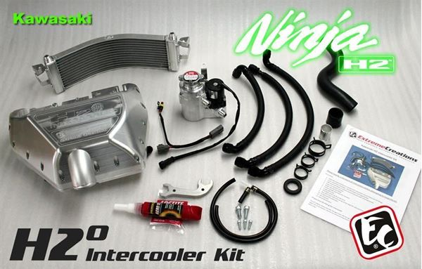Kawasaki Ninja H2 Intercooler kit