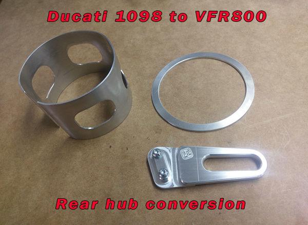 Ducati hub converssion kit